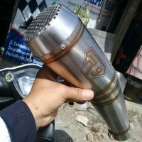 Silincer Knalpot racing R9 GP Series Silincer Only