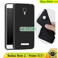 Case Redmi Note 2 - Xiaomi Note 2 prime Matte Armor Softcase Soft