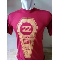 Kaos T-Shirt Billabong Red Murah