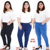 Jegging Jeans Panjang Extra Jumbo . Legging Jeans Extra Jumbo