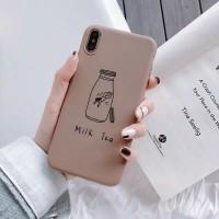 Softcase / Soft Silicon Case Karakter Milk Tea Oppo R9 Plus / F3 Plus