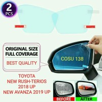Kaca film Spion Anti fog embun kabut air Hujan New Rush Terios Avanza