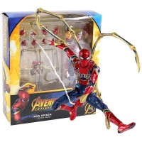 FIGURE SHF IRON SPIDER MAFEX 081 AVENGERS INFINITY WARS ACTION FIGURE