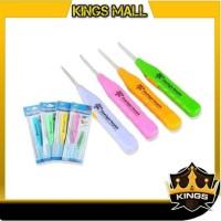 . KINGS - H245 Alat Pembersih Telinga / Alat Korek Kuping Lampu LED /