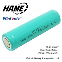 Baterai 18650 INR 3.7V HAME WINTONIC 2200mAh Flat Top - Multi-Color