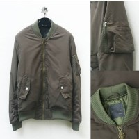 Jacket Bomber Zara man ,Jacket Pria Bomber Color Olive