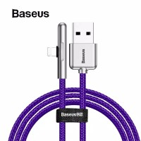Baseus Kabel Data USB Game Mobile iPhone Lightning LED 2.4A 1M