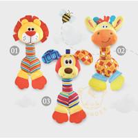 IMUNDEX hand rattle Rattle stick / ring / mainan bayi / gigitan bayi