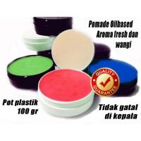 SILAHKAN DI ORDER pomade oilbased non label pot plastik MURAH MERIAH