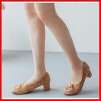 Sepatu Kerja Pesta High Heels Low Import Premium Wanita Korea