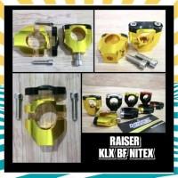 SALE RAISER STANG FATBAR NITEX FULL CNC KAKI 1