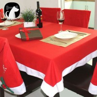Cantik lovelysmile 132x208cm Tablecloth Christmas Table Cover Dining
