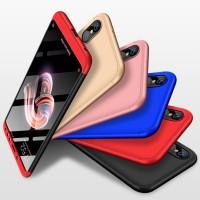 Hard Lucu Case HP Belakang 360 Derajat Tipis Xiaomi Redmi Note 5 Pro C