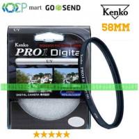 Filter UV Kenko Pro 1 Digital 58mm Canon 18-55mm Fujifilm 16-50mm