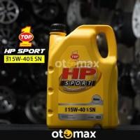 Oli Mobil Top 1 HP Sport 5W-30 API SN 3.5LT