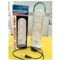 """LAMPU EMERGENCY """"MITSUYAMA""""MS-6033 (lampu cahaya kuning & putih)"""