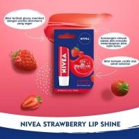 NIVEA Lip Care Fruity Shine Beauty Stick Strawberry 4.8G