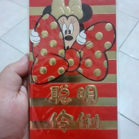 Angpao Imlek Mickey Mouse / Amplop imlek Panjang murah