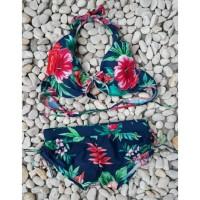 bikini set bra celana tali ikat baju renang pantai swimwear wanita 313