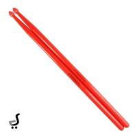 Stick Drum BRANDOS Nylon Ukuran 5A Stik Drum Impor STKD-65 Merah