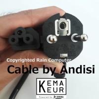Kabel Power Adaptor Charger Laptop 3 Lubang TEBAL