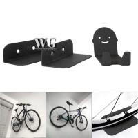 WG 3pcs Rak Gantung Tempel Dinding Bahan Besi untuk Sepeda