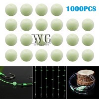 GN 1000PCS Luminous Beads Fishing Space Beans Round Float Balls