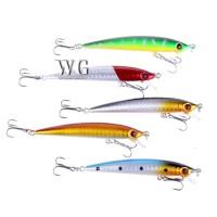 GN 5 Pcs Fishing Lures Crankbaits Minnow Hard Baits Carp Tackle Hooks