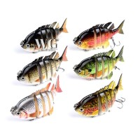 Umpan Bentuk Ikan Warna-warni untuk Peralatan Pancing