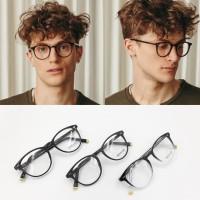 Paket Lensa Minus - Frame Kacamata Moscot Jared