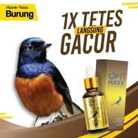 OPTIMAXX Suplemen Vitamin Tetes Burung Kicau Lovebird Murai Kenari