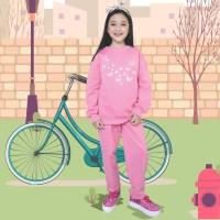 CJ 1CMN95 Baju Setelan Anak Perempuan Baju Olahraga Anak Cantik Trendy