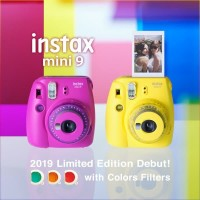 Fujifilm Instax Mini 9 / Mini9 - Clear Yellow Limited Edition