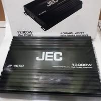 Power JEC JP4650 Power Amplifier 4 Channel