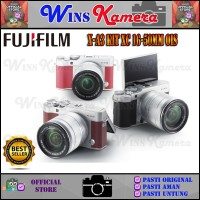 FUJIFILM X-A3 / XA3 / FUJI X-A3 / XA3 16-50 MM ORIGINAL !! - Merah Muda