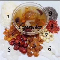 Paket Peach Gum Collagen Healty Dessert Isi 9