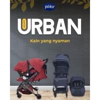 Kereta Dorong Bayi Stroller Pliko BS 580 + PK 03 B Urban Travel System