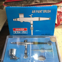 Spray gun lukis / Air Paint Brush Meiji / Spit cat lukis