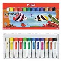 Titi Acrylic Paint 12 Colors Set