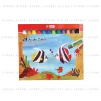 Titi 24 Acrylic Colors - Cat Akrilik/Acrylic 24 Warna
