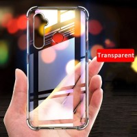 Samsung Galaxy M31/M21/M11 Case Soft Anti Crack Clear Silicone Casing