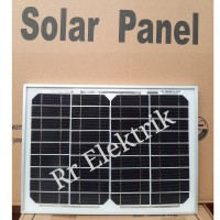 Solar Panel Solar Cell Panel Surya GH 10wp Monocrystalline 10 Wp Mono