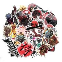 Sticker Stiker Koper Desain Jepang Bushido Samurai Japan