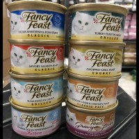 Fancy Feast Can Kaleng 85Gr Wet Food Makanan Kucing Basah