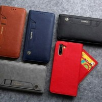 samsung note 10 CMAI2 Wallet flip leather case cover card dompet