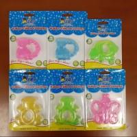 Dodo Baby Water Teether Mainan Gigitan Bayi Karakter Bahan Air