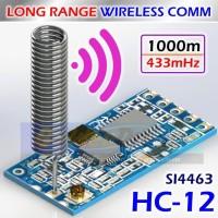 Long Range HC-12 Wireless Serial SI4463 433Mhz Transceiver HC12 Comm