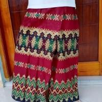 Sarung Celana Batik motif merah