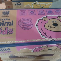 Susu UHT Ultra mimi kids 125 ml | rasa strawbery | Isi 40 pcs