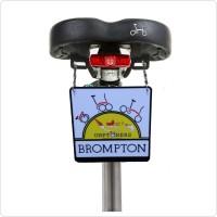 Bord sadel brompton gantungan saddle bike brompton gantungan brompton